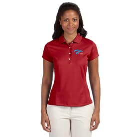 Adidas® Golf Climalite® Solid Polos- Ladies'