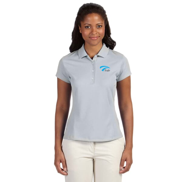 Adidas® Golf Climalite® Solid Polos- Ladies'