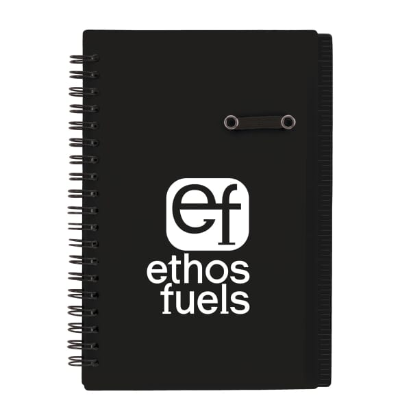 Flip Notebook With Pen Loop