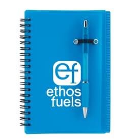 Flip Notebook With Pen Loop