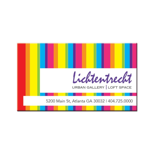 Large Magnetic Business Card
