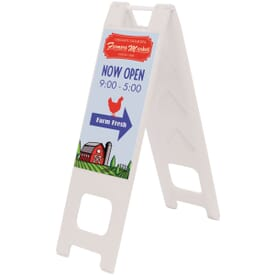 Slim Sidewalk Sign Kit