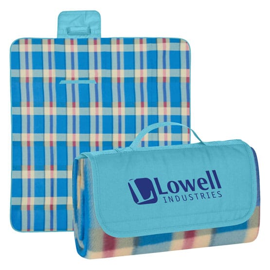 Personalized Twirl Up Picnic Blanket
