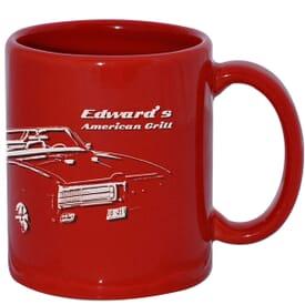11 oz Red Patriotic Mug
