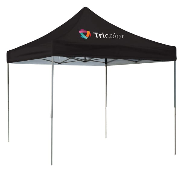 10 Ft. Square Tent Full-Color 1 Location Print