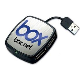 Quadport Mini USB Hub