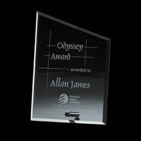 Slanted Crystal Crown Award