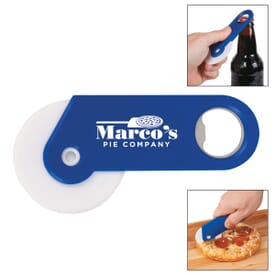 Pizza Wheel Bottle Opener