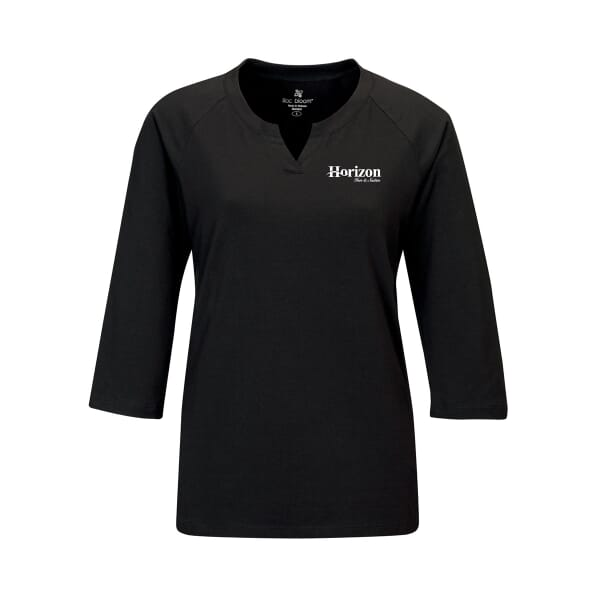 Split-Neck Knit Shirt - Ladies'