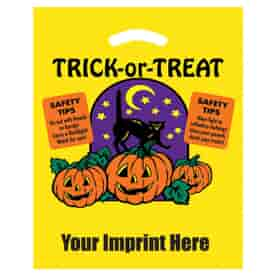 "12"" x 15"" Spooky Pumpkin Halloween Bag"