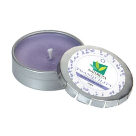 Small Push Tin Candle