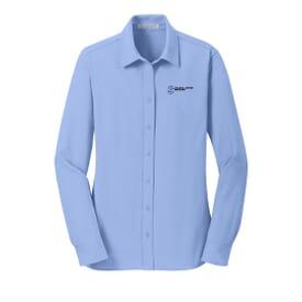 Port Authority Dimension Knit Dress Shirt - Ladies