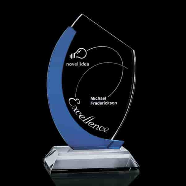 Blue Fracture Crystal Award