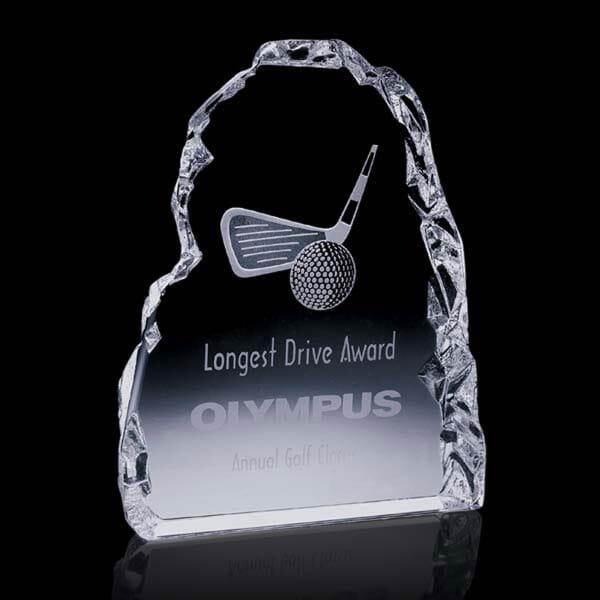 Dimensional Edges Vertical Golf Award