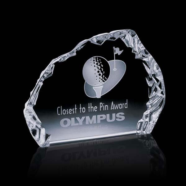 Dimensional Edges Horizontal Golf Award