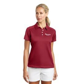 Nike Golf- Dri-Fit Pebble Texture Polo- Ladies'