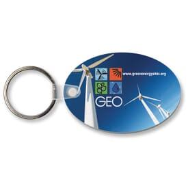 Sof-Color™ Economy Oval Key Tag