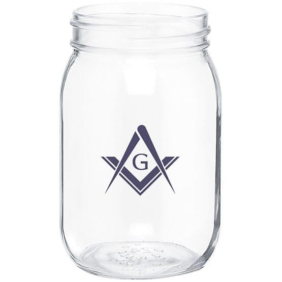 Clear Mason Jar
