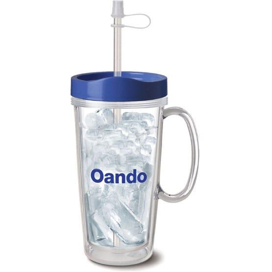 16 oz Clear Plastic Mug