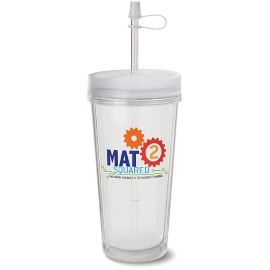 16 oz Clear Swat Mug