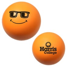 Orange emoticon stress reliever