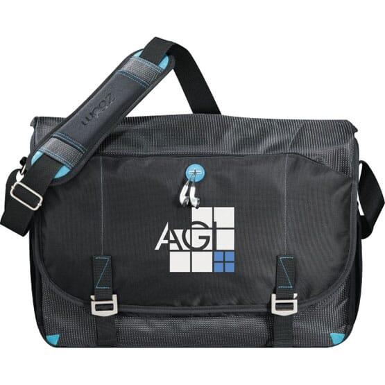 Zoom™ Checkpoint-Friendly Compu-Messenger Bag