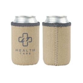 Burlap Can Holder