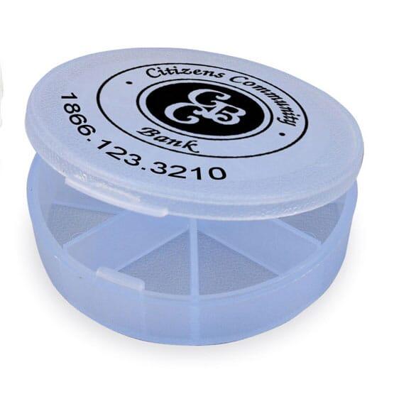 Seven Compartment Pill Box