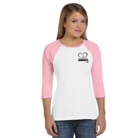 Bella + Canvas® Ladies' Baseball T-Shirt
