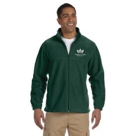 Harriton® Zippered Men's Fleece