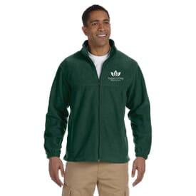 Harriton® Zippered Men's Fleece