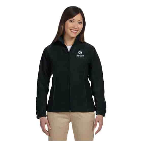 Harriton® Zippered Ladies Fleece