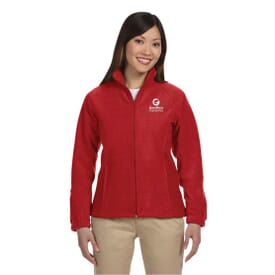 Harriton® Zippered Ladies Fleece