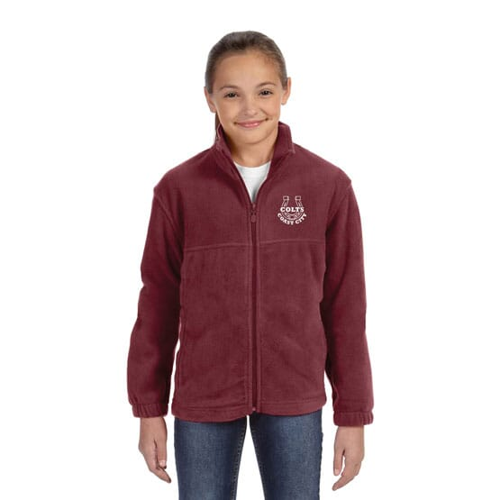 Harriton® Zippered Youth Fleece