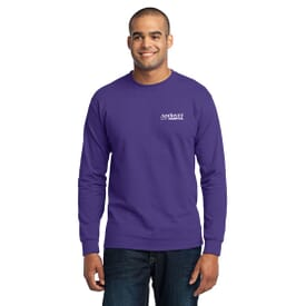Port & Company® Long Sleeve 50/50 Cotton/Poly T-Shirt - Unisex