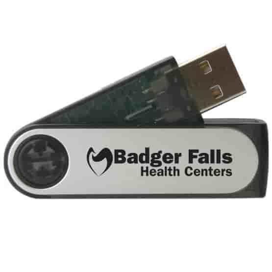 8GB Outswing USB Flash Drive