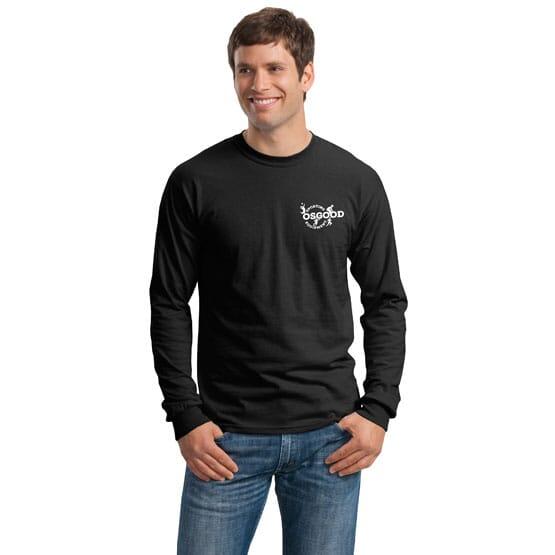 Gildan® Ultra Cotton® 100% Cotton Long Sleeve T-Shirt