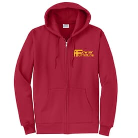 Port & Company® Classic Full-Zip Hooded Sweatshirt