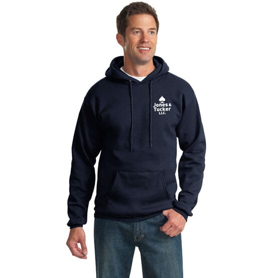 Port & Company® Ultimate Pullover Hooded Sweatshirt