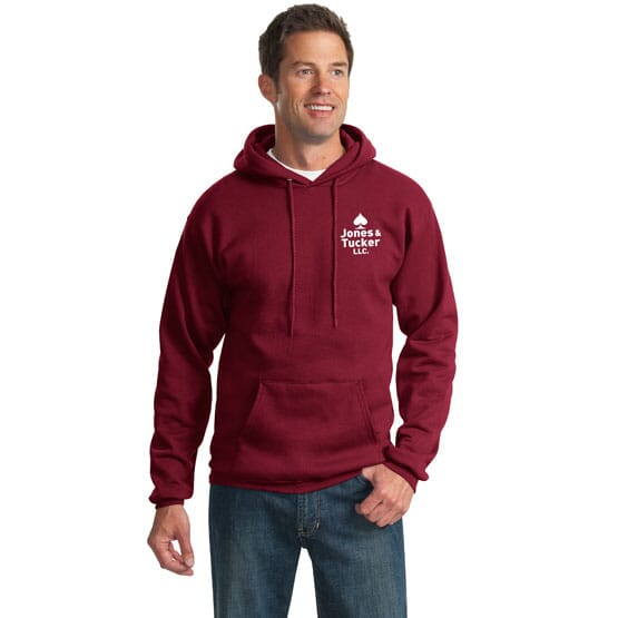 Port & Company® Ultimate Pullover Hooded Sweatshirt