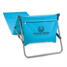 Folding Beach Mat Tote