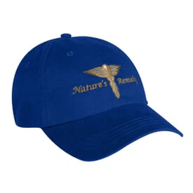 Unstructured Low Profile Twill Cap With Fabric Strap