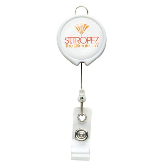 Dome Style Full Message Badge Reel