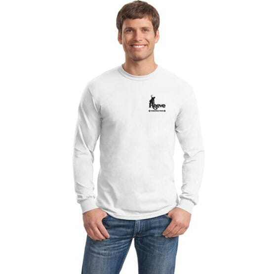 Gildan® Heavy Cotton™ 100% Cotton Long Sleeve T-Shirt