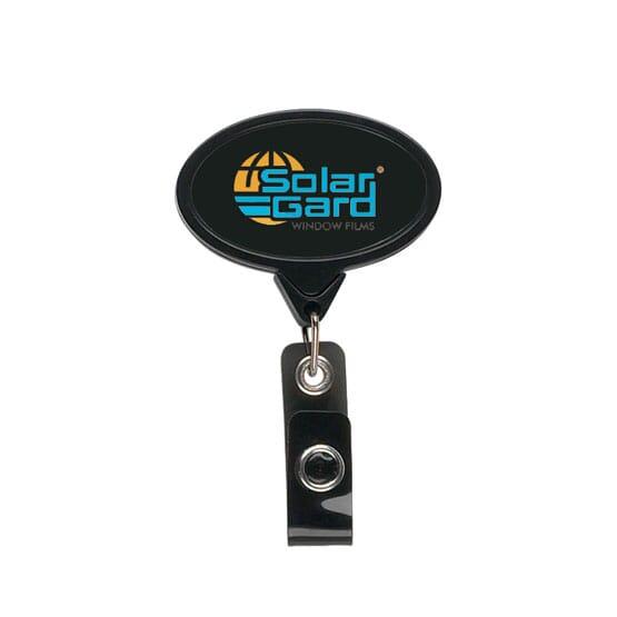 Elliptical Message Badge Reel