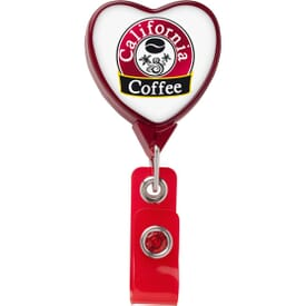 Dome Style Monumental Love Badge Reel