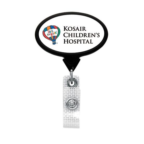 Dome Style Hospital Friendly Badge Reel