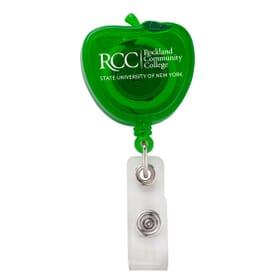 Apple Shaped Badge Reel