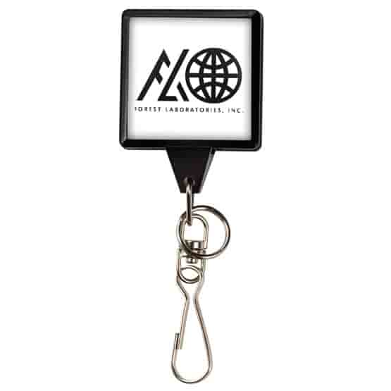 Dome Style Internal Bamboo Badge Reel