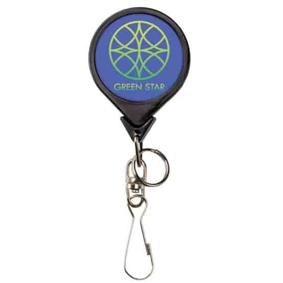 Bamboo Rounds Badge Reel